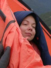 Палатка в Хибинах
